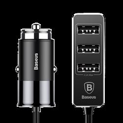 Автомобильное зарядное устройство Baseus Enjoy Together Four Interfaces Output Patulous Car Charger (CCTON-01)