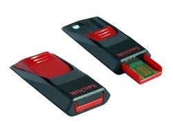 Флеш-накопитель USB  32GB  SanDisk  Cruzer Edge  чёрный - фото 9349