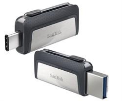 Флеш-накопитель USB  3.1  16GB  SanDisk  Dual Drive  (Type C + Type A)  OTG - фото 9369