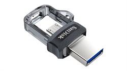 Флеш-накопитель USB 3.0  64GB  SanDisk  Dual Drive  OTG - фото 9392
