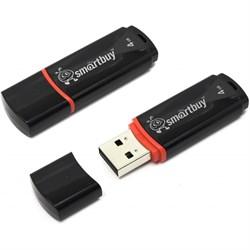Флеш-накопитель USB  8GB  Smart Buy  Crown   чёрный - фото 9434