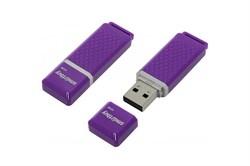 Флеш-накопитель USB  8GB  Smart Buy  Quartz  фиолетовый - фото 9451