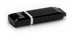 Флеш-накопитель USB  8GB  Smart Buy  Quartz  чёрный - фото 9452