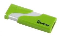 Флеш-накопитель USB  16GB  Smart Buy  Hatch  зелёный - фото 9473