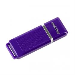 Флеш-накопитель USB  16GB  Smart Buy  Quartz  фиолетовый - фото 9480