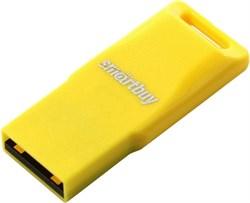 Флеш-накопитель USB  32GB  Smart Buy  Funky  жёлтый - фото 9499