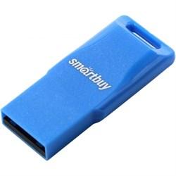 Флеш-накопитель USB  32GB  Smart Buy  Funky  синий - фото 9500
