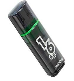 Флеш-накопитель USB 3.0  16GB  Smart Buy  Glossy  темно серый - фото 9539