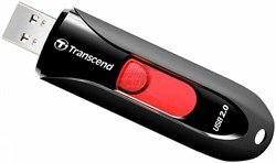 Флеш-накопитель USB  4GB  Transcend  JetFlash 590  чёрный - фото 9563