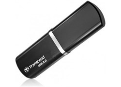 Флеш-накопитель USB  8GB  Transcend  JetFlash 320  чёрный - фото 9566