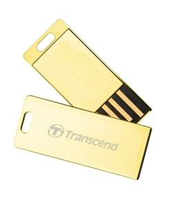 Флеш-накопитель USB  16GB  Transcend  JetFlash T3G  золото - фото 9592