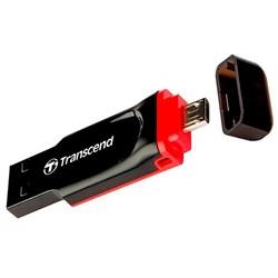 Флеш-накопитель USB  32GB  Transcend  JetFlash 340  OTG - фото 9597