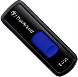 Флеш-накопитель USB  64GB  Transcend  JetFlash 500  чёрный - фото 9616