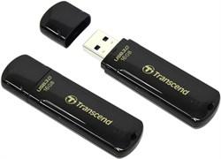 Флеш-накопитель USB 3.0  16GB  Transcend  JetFlash 700  чёрный - фото 9631