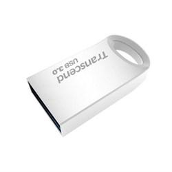 Флеш-накопитель USB 3.0  16GB  Transcend  JetFlash 710  серебро металл - фото 9633