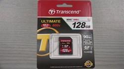 Карта памяти SDXC  128GB  Transcend Class 10 - фото 9800