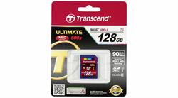 Карта памяти SDXC  128GB  Transcend Class 10 UHS-I (600x) - фото 9801