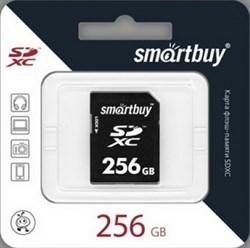 Карта памяти SDXC  256GB  Smart Buy Class 10 - фото 9803