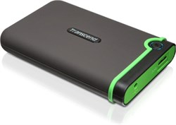 "Внешний жесткий диск HDD  Transcend   500 GB  М3 серо-зеленый, 2.5"", USB 3.0 - фото 9805"