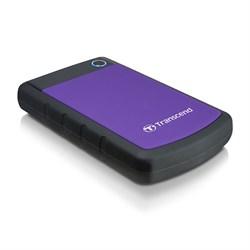 """Внешний жесткий диск HDD  Transcend  1 TB  25MС StoreJet чёрный , резиновый противоударный, 2.5"""", USB 3.0 - фото 9809"""