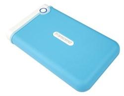 """Внешний жесткий диск HDD  Transcend  2 TB  M3B StoreJet Portable голубой, 2.5"""", USB 3.0 - фото 9819"""
