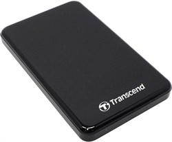 "Внешний жесткий диск HDD  Transcend  2 TB  А3 Anti-Shock чёрный, 2.5"", USB 3.0 - фото 9820"