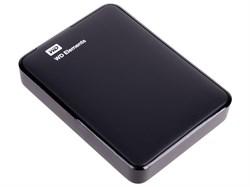 "Внешний жесткий диск HDD  WD  2 TB  Elements Portable чёрный, 2.5"", USB 3.0 - фото 9831"