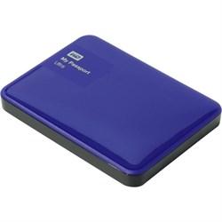 """Внешний жесткий диск HDD  WD   500 GB  My Passport Ultra синий, 2.5"""", USB 3.0 - фото 9850"""