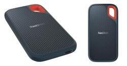 Внешний жесткий диск SSD  Sandisk   250 GB  Extreme чёрный, USB 3.1, противоударный\водонепроницаемый - фото 9852