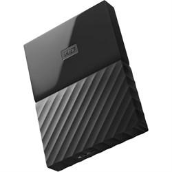 Внешний жесткий диск SSD  WD   256 GB  My Passport, чёрный/серебро, USB 3.1 - фото 9861