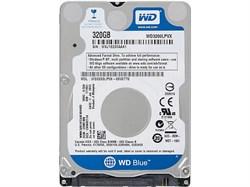 Внутренний жесткий диск HDD  WD   320GB, SATA-III, 5400 RPM, 16 Mb, 3.5'', Mobile, синий - фото 9863