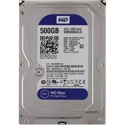 Внутренний жесткий диск HDD  WD   500GB, SATA-III, 7200 RPM, 32 Mb, 3.5'', синий - фото 9865
