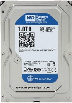 Внутренний жесткий диск HDD  WD  1TB  Caviar, SATA-III, 7200 RPM, 64 Mb, 3.5'', Mobile, синий - фото 9866