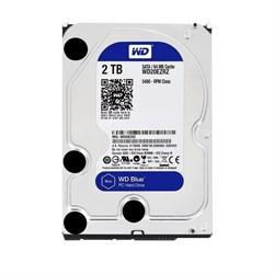 Внутренний жесткий диск HDD  WD  2TB  Caviar, SATA-III, 5400 RPM, 64 Mb, 3.5'', Mobile, синий - фото 9868
