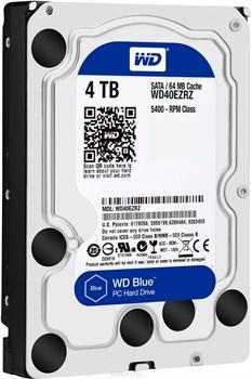 Внутренний жесткий диск HDD  WD  4TB, SATA-III, 5400 RPM, 64 Mb, 3.5'', PC, синий - фото 9871