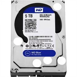 Внутренний жесткий диск HDD  WD  5TB, SATA-III, 5400 RPM, 64 Mb, 3.5'', PC, синий - фото 9872