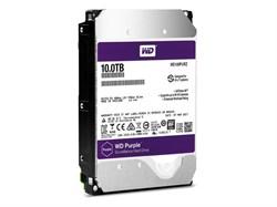 Внутренний жесткий диск HDD  WD 10TB  IntelliPower, SATA-III, 5400 RPM, 256 Mb, 3.5'', пурпурный - фото 9889