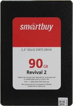 "Твердотельный внутренний диск SSD  Smart Buy   90GB  Revival 2, SATA-III, R/W - 550/450 MB/s, 2.5"", PS3111-S11, TLC - фото 9901"