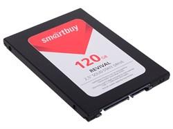 "Твердотельный внутренний диск SSD  Smart Buy  120GB  Revival 2, SATA-III, R/W - 550/445 MB/s, 2.5"", PS3111-S11, TLC - фото 9903"