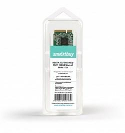 Твердотельный внутренний диск SSD  Smart Buy  128GB  NV11 mSata (mini SATA), SATA-III, R/W - 460/280 MB/s, Marvell 88NV1120, MLC - фото 9910