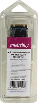 Твердотельный внутренний диск SSD  Smart Buy  240GB  M8, NVMe (M.2), 2280 PS5008, TLC - фото 9917