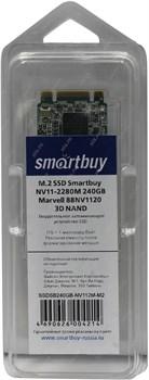 Твердотельный внутренний диск SSD  Smart Buy  240GB  NV11-2280M, (M.2), Marvell 88NV1120, MLC - фото 9918