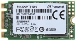 Твердотельный внутренний диск SSD  Transcend  120GB  MTS420, SATA-III R/W - 500/560 MB/s, (M.2), 2280, 3D NAND - фото 9941