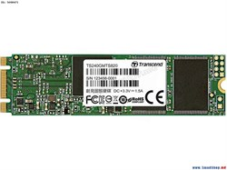 Твердотельный внутренний диск SSD  Transcend  240GB  MTS820, SATA-III R/W - 500/560 MB/s, (M.2), 2280, 3D NAND - фото 9949