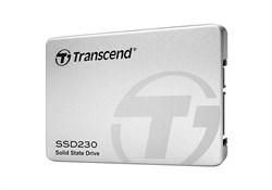 "Твердотельный внутренний диск SSD  Transcend  256GB  230S, SATA-III, R/W - 560/520 MB/s, 2.5"", 3D NAND, TLC - фото 9950"