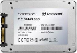 "Твердотельный внутренний диск SSD  Transcend  512GB  370S, SATA-III, R/W - 560/460 MB/s, 2.5"", TS6500, MLC - фото 9957"
