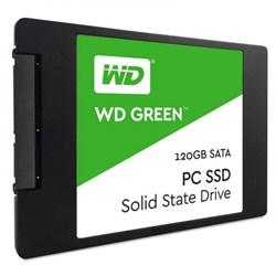 """Твердотельный внутренний диск SSD  WD  120GB Original, SATA-III, R/W - 465/540 MB/s, 2.5"""", TLC, зелёный - фото 9960"""