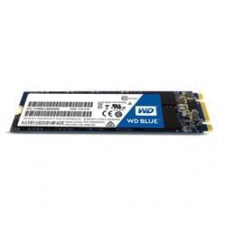 Твердотельный внутренний диск SSD  WD  250GB, SATA-III, R/W - 550/525 MB/s, (M.2), 2280, TLC, синий - фото 9966