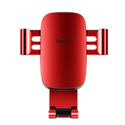 Автомобильный держатель для телефона в дефлектор Baseus Metal Age Gravity (SUYL-D09)