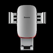 Автомобильный держатель для телефона в дефлектор Baseus Metal Age Gravity (SUYL-D02)